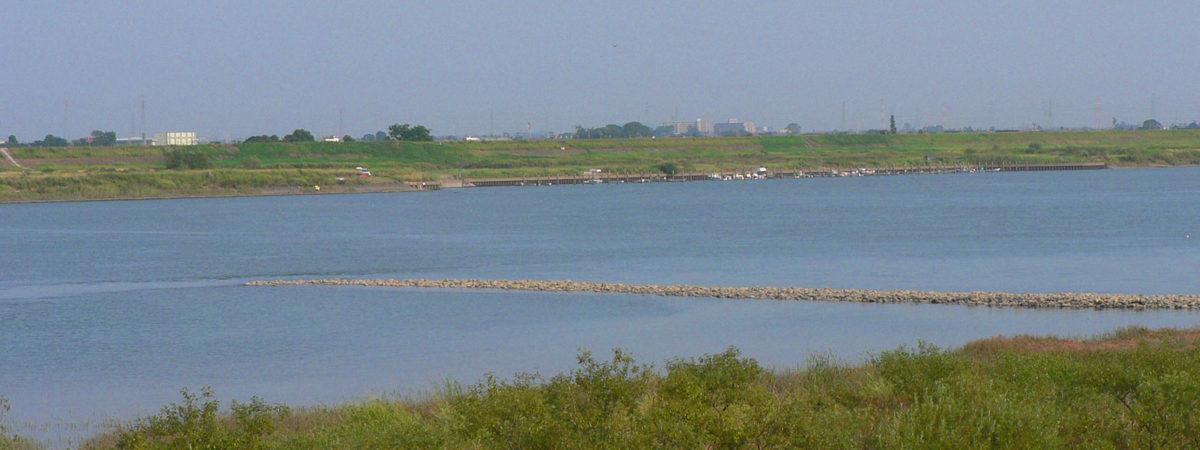 木曽川のケレップ水制